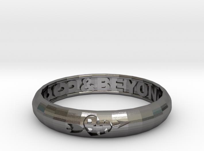Word Ring 3d printed