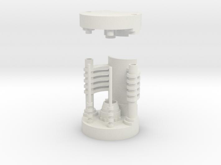 Saber Crystal Chamber 3d printed