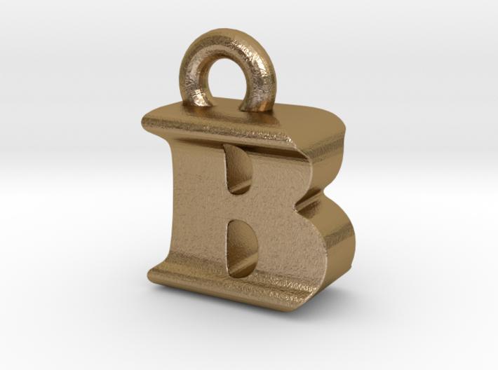 3D Monogram Pendant - BIF1 3d printed