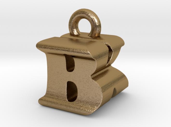 3D Monogram Pendant - BKF1 3d printed