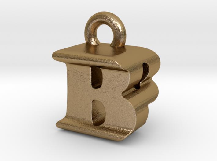 3D Monogram Pendant - BPF1 3d printed