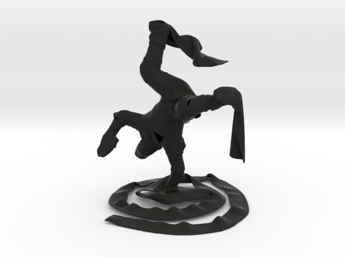Breakdance Clothman 3d printed