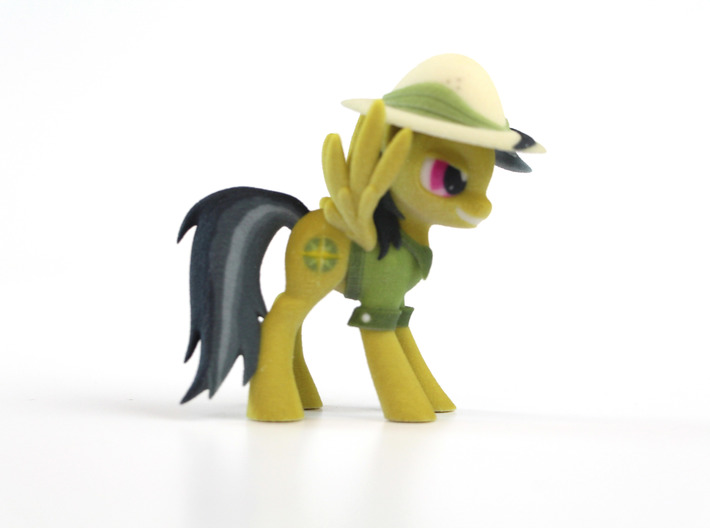 My Little Pony - Daring Do (≈80mm tall) 3d printed