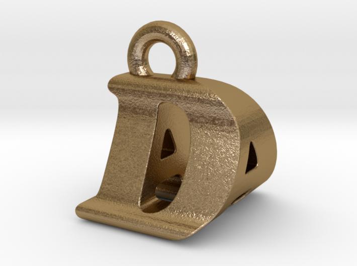 3D Monogram Pendant - DAF1 3d printed