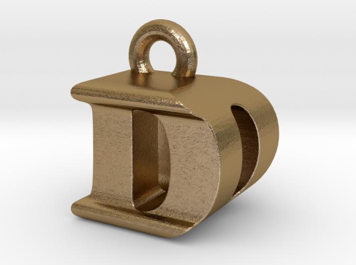 3D Monogram Pendant - DDF1 3d printed