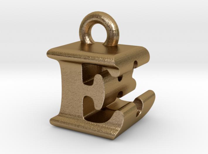 3D Monogram Pendant - EBF1 3d printed