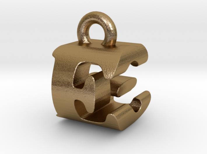 3D Monogram Pendant - EGF1 3d printed