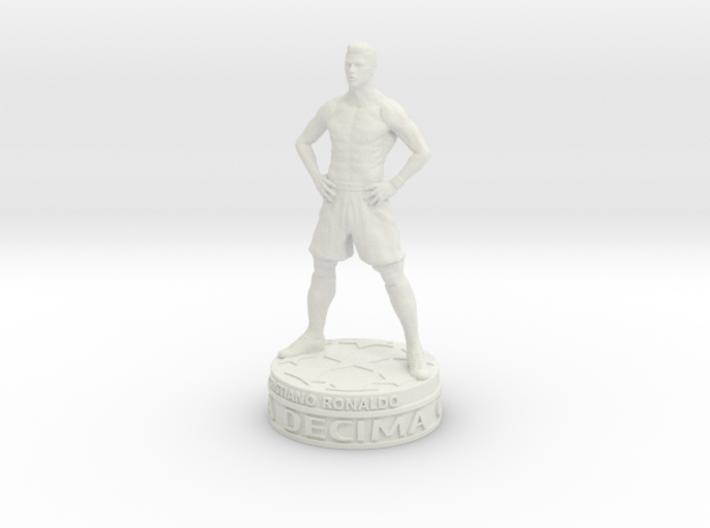 Cristiano Ronaldo 3d printed