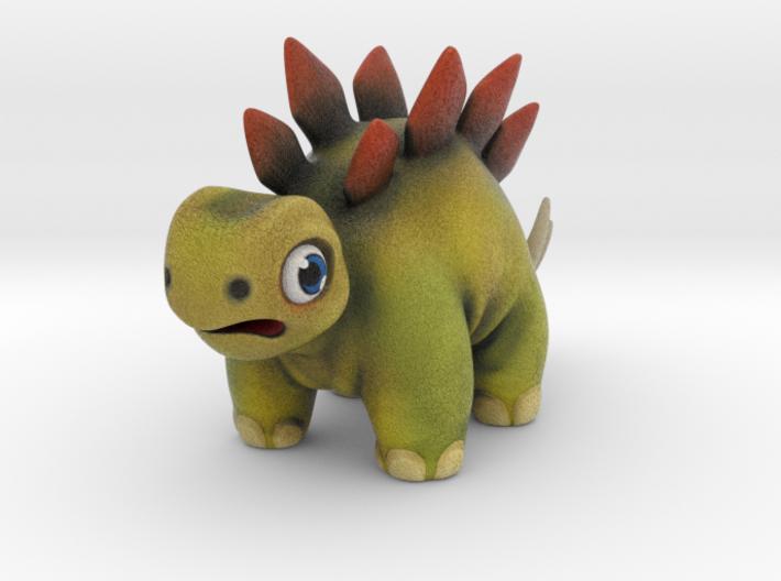 Stegosaurus Hatchling Figurine 3d printed