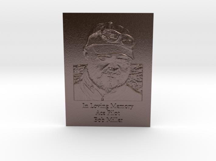 Bob Miller Memorial Engraved 3d printed