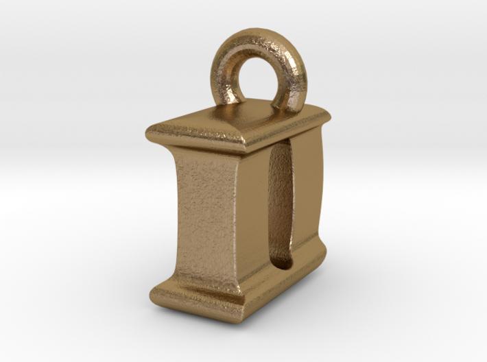 3D Monogram Pendant - IDF1 3d printed