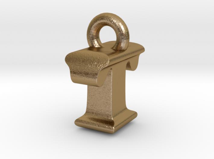 3D Monogram Pendant - ITF1 3d printed