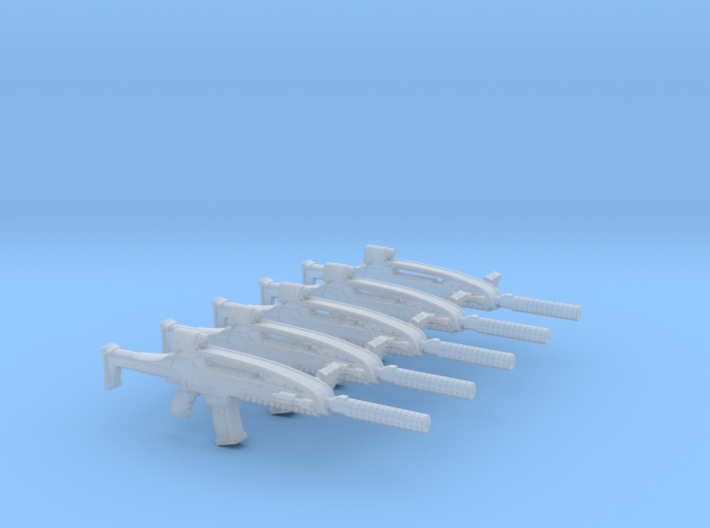 Weapon 19 (XM8) 001a 3d printed