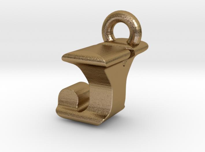 3D Monogram Pendant - JYF1 3d printed