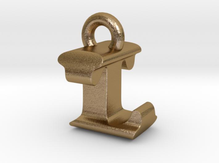 3D Monogram Pendant - LTF1 3d printed