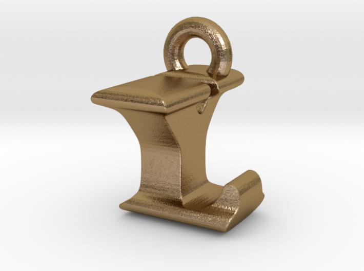 3D Monogram Pendant - LYF1 3d printed