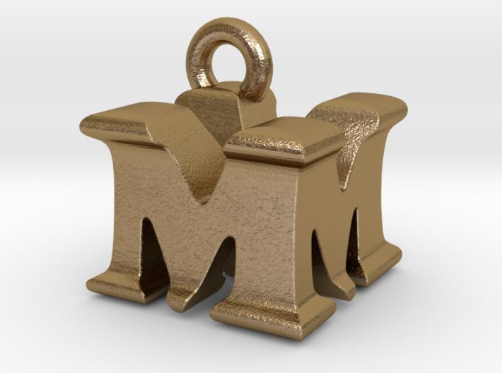 3D Monogram Pendant - MMF1 3d printed