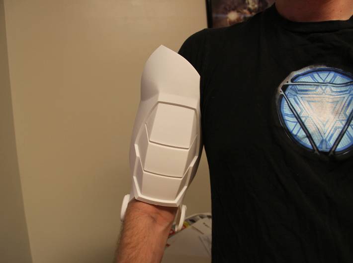 Iron Man Mark IV Bicep (Right) 3d printed