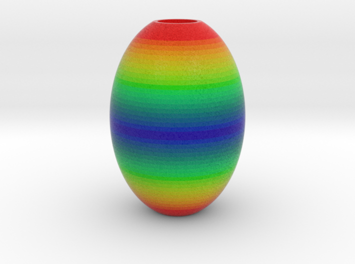 DRAW HC ornament - color pattern A 3d printed