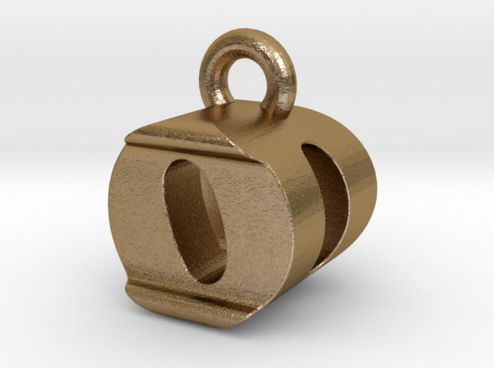 3D Monogram Pendant - ODF1 3d printed