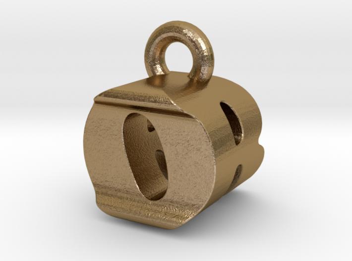 3D Monogram Pendant - ORF1 3d printed