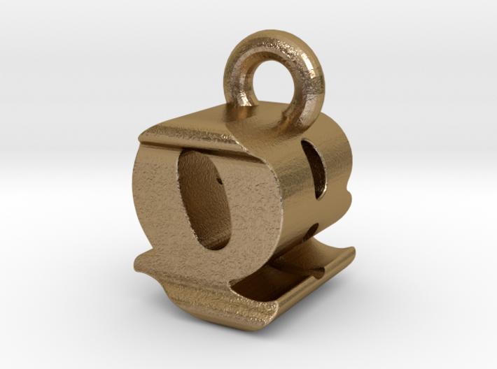 3D Monogram - QBF1 3d printed