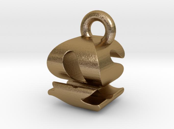 3D Monogram - QSF1 3d printed