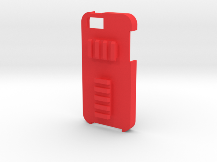 iPhone 5 Picatinny Case (Back Rails) 3d printed