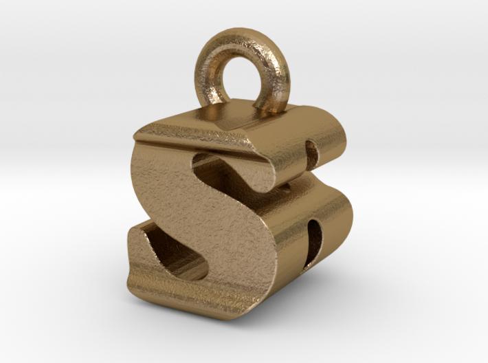 3D Monogram - SBF1 3d printed
