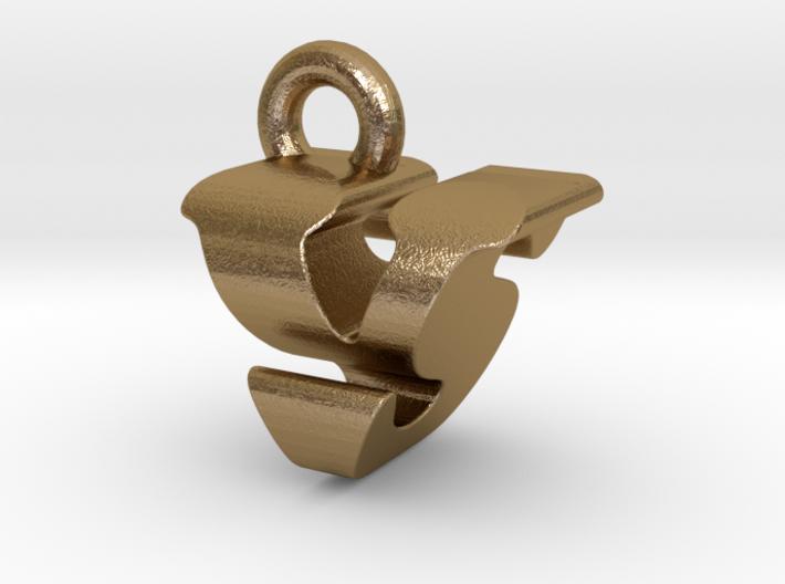 3D Monogram - VSF1 3d printed