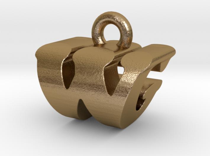 3D Monogram - WGF1 3d printed