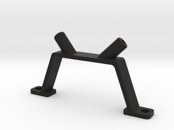 V-shaped antenna mount.  3d printed