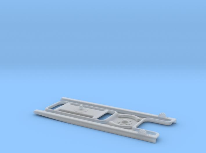 1:43.5 O9 Hudson Pressed Steel Portable Turnout 3d printed