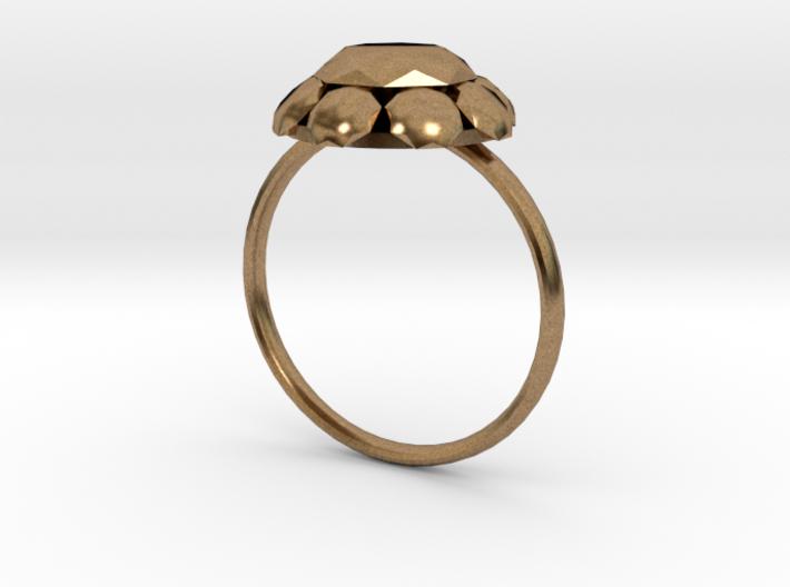 Diamond Ring US Size 7 UK Size O 3d printed