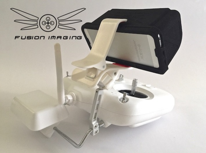 iPhone 5 / 5s Visor / FPV Deep Hood - Easy Glide 3d printed iPhone 5 / 5s Visor / FPV Hood