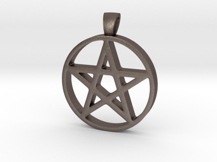 Pentagram Simple 3d printed