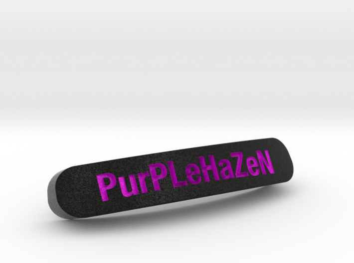 PurPLeHaZeN Nameplate for SteelSeries Rival 3d printed