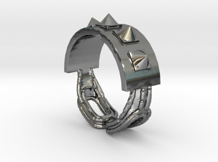 Choker Ring - Sz. 6 3d printed
