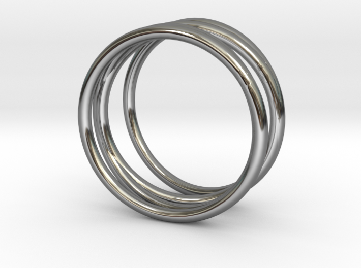 Finger Cage Ring - Sz. 5 3d printed