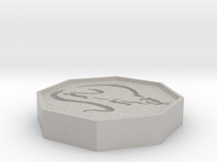 Rat Talisman 3d printed