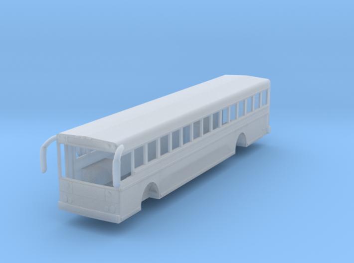 N scale 1:160 Thomas Saf-T-Liner HDX school bus 3d printed