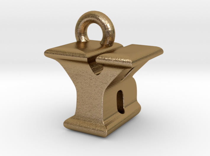 3D Monogram - YBF1 3d printed