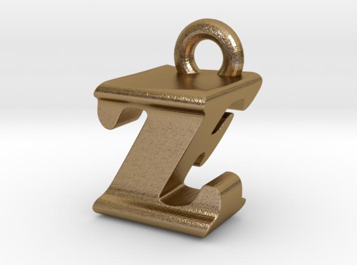 3D Monogram - ZFF1 3d printed