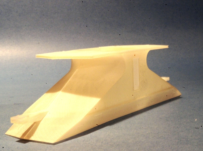 HO CNR Double Ended Plow Body only 3d printed