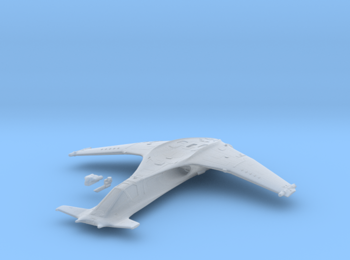 1/144 SA-43 Hammerhead Space Fighter 3d printed