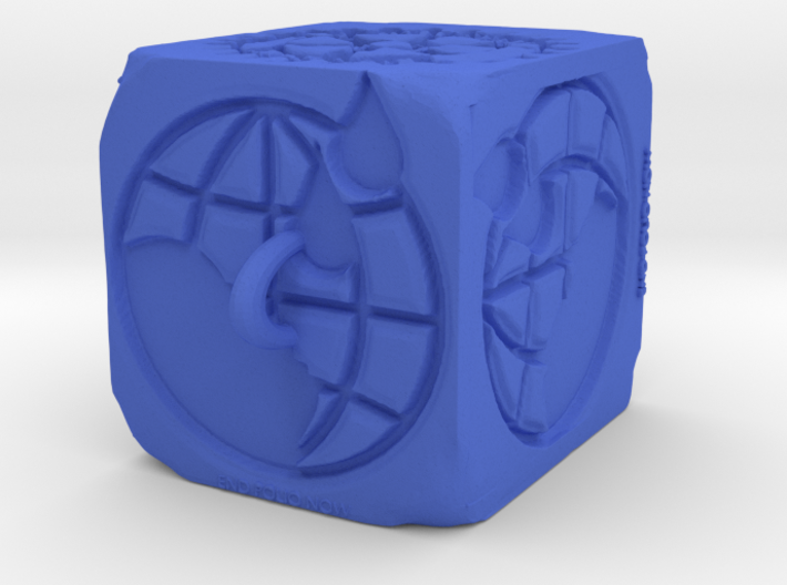 Rotary End Polio Now Ornament 3d printed