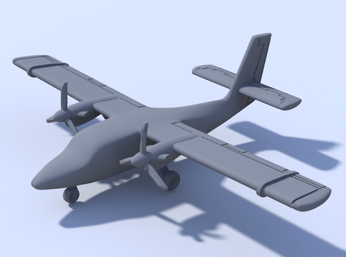 500 - Twin Otter - Solid 3d printed