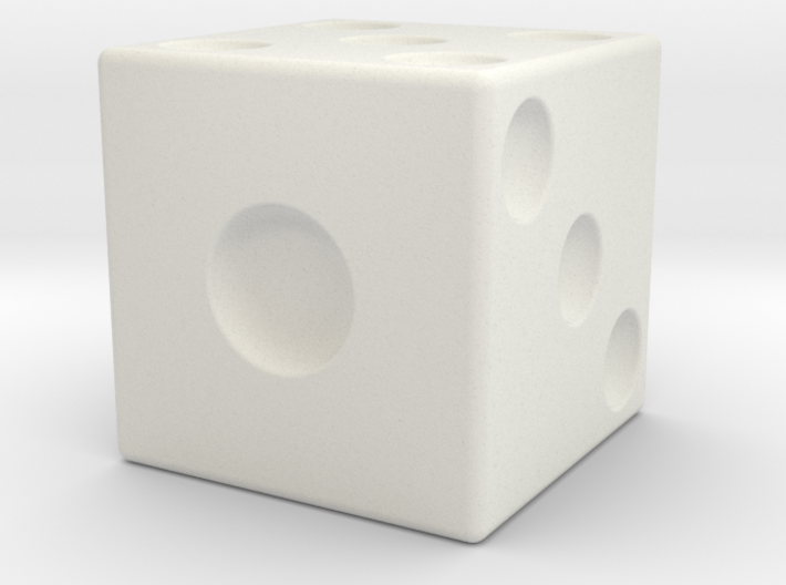 Giant Dice 3d printed