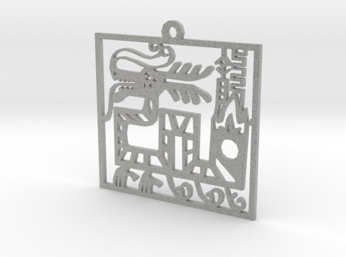 Dragon 3d printed