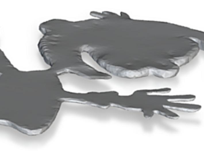 millipop logo 3d printed